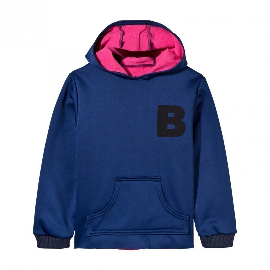 The Brand Neoprene Hoodie Blue Huppari