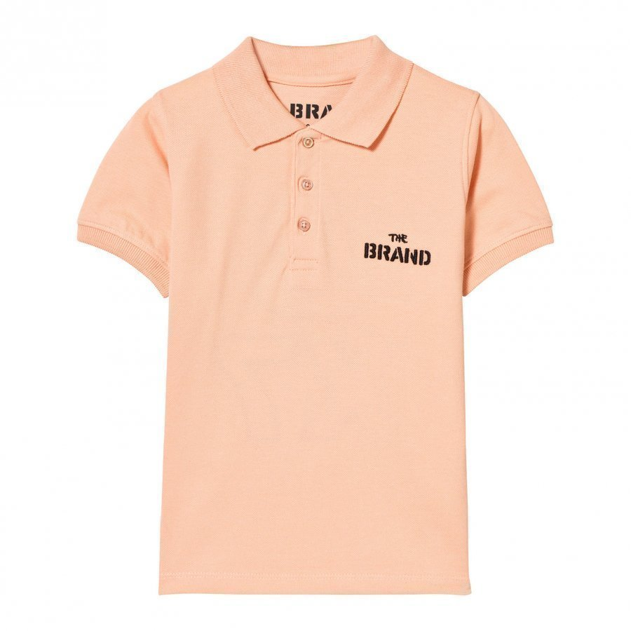 The Brand Pique Top Patch Peach Pikeepaita