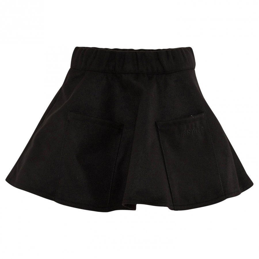 The Brand Pocket Skirt Black Midihame