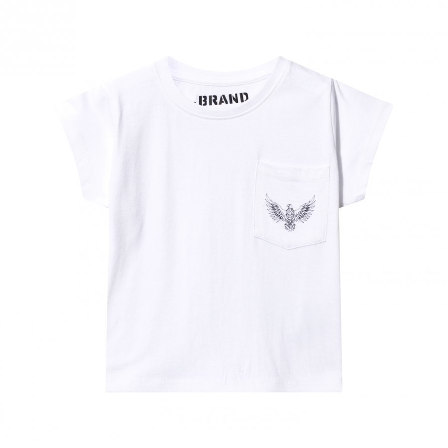 The Brand Pocket Tee White T-Paita