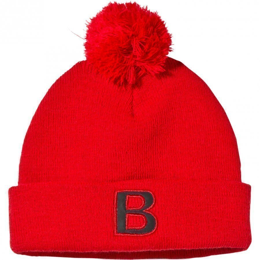 The Brand Pompom Hat Red Pipo