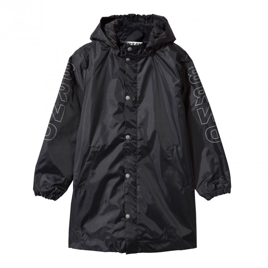 The Brand Rain Coat Black Sadetakki
