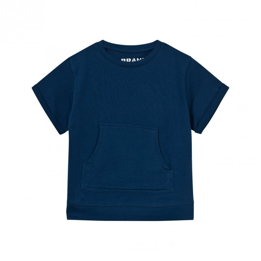 The Brand Raw Tee Hood Blue T-Paita