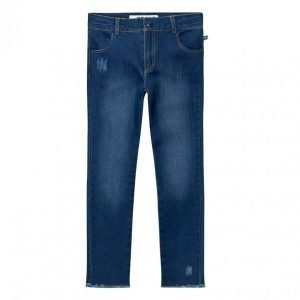 The Brand Skinny Denims Stonewashed Blue Farkut