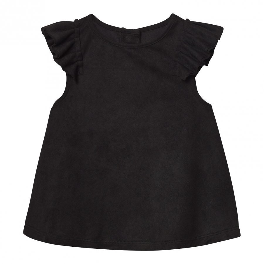 The Brand Suede Top Black Pusero