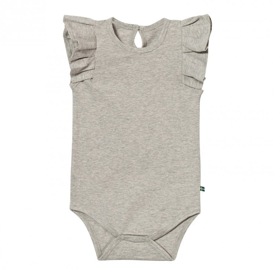 The Brand Summer Flounce Baby Body Grey Melange Body