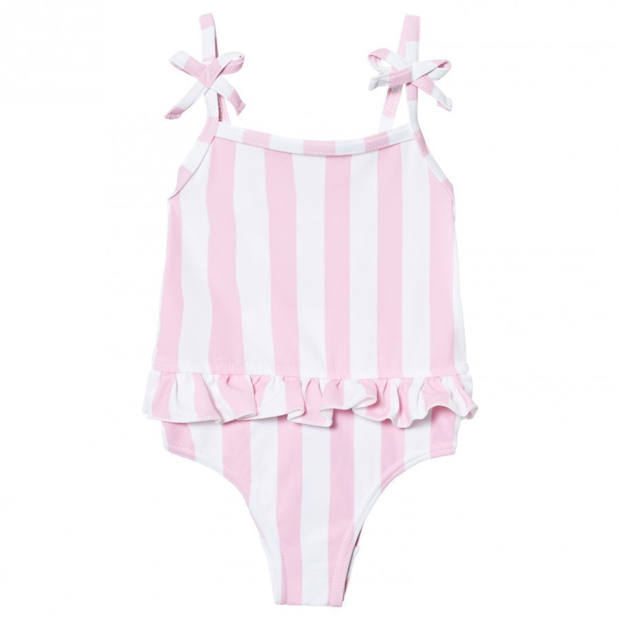 The Brand Swim Suit Pink Stripe Uimapuku