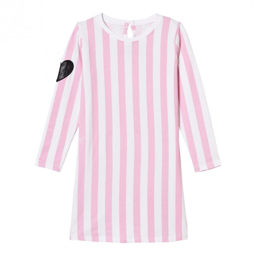 The Brand Tee Dress Pink Stripe Mekko