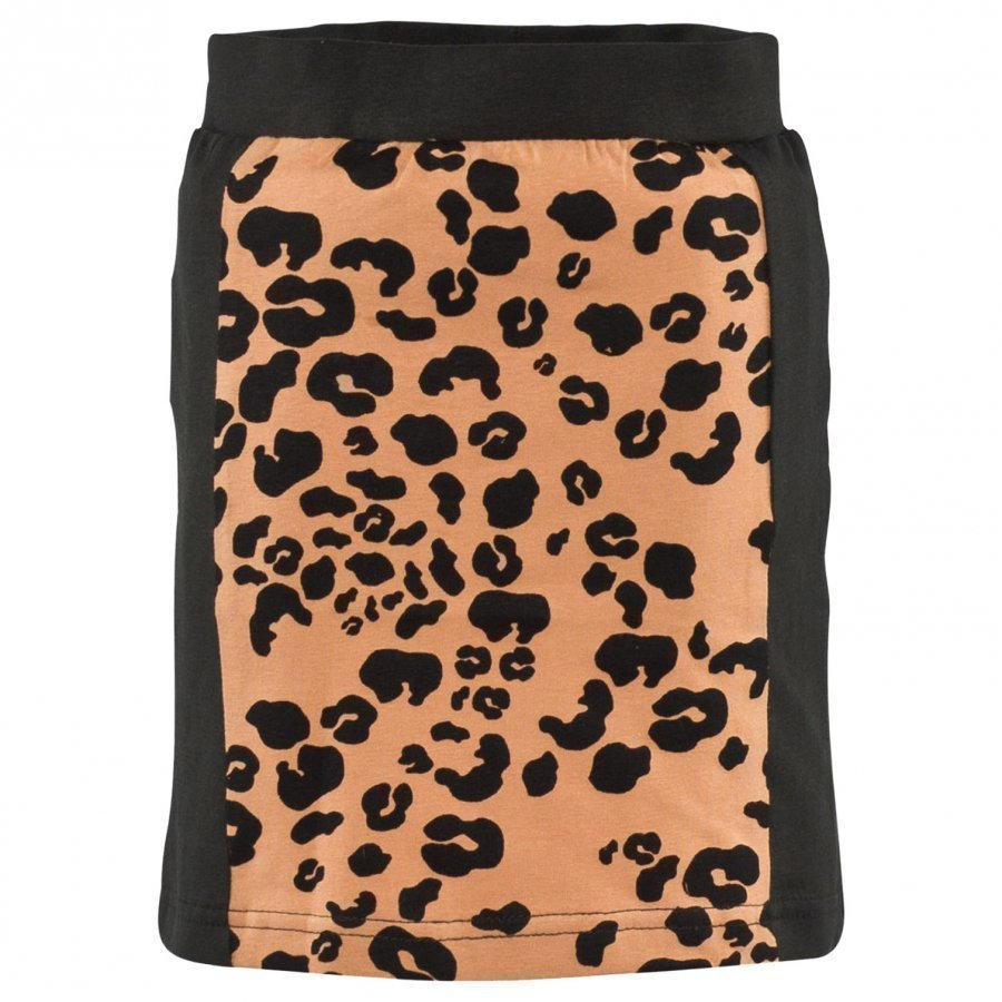 The Brand Tube Skirt Black/Leo Midihame