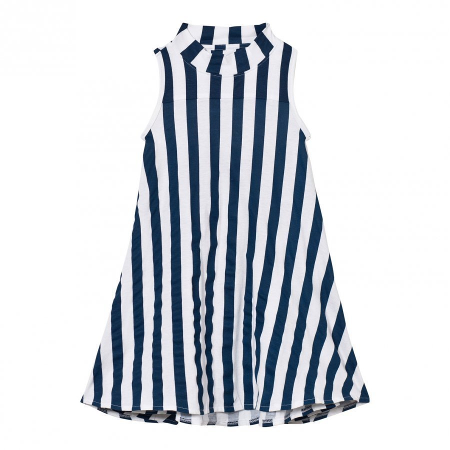 The Brand Turtle Dress Blue Stripe Mekko