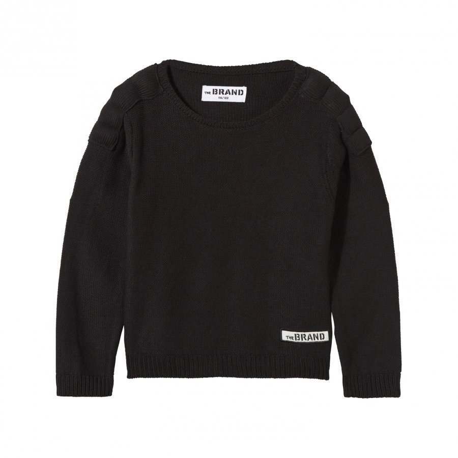 The Brand Uni Mc Knit Sweater Black Neulepaita
