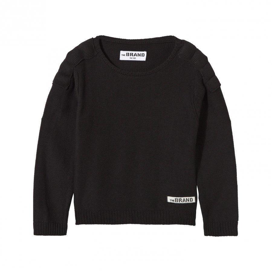 The Brand Uni Mc Knit Sweater Black Neulepaita