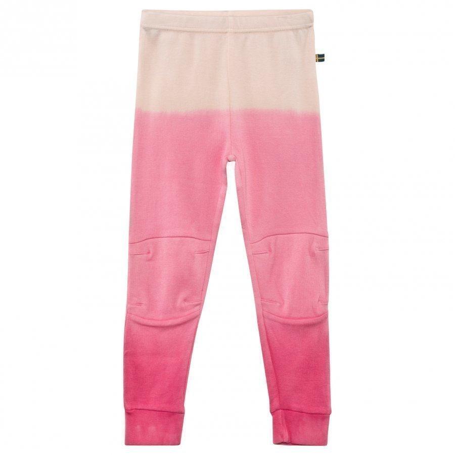 The Brand Vauvan Patch Housut Pinkki Dip Dye Housut