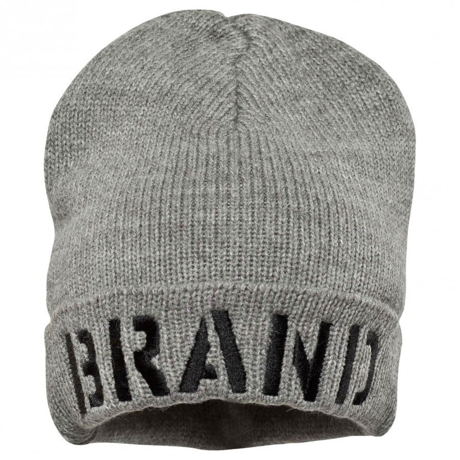 The Brand Winter Hat Grey Melange Pipo