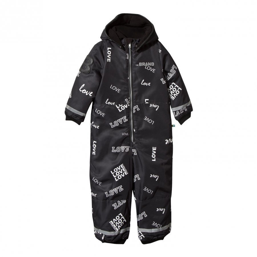 The Brand Winter Overall Black Love Toppahaalari