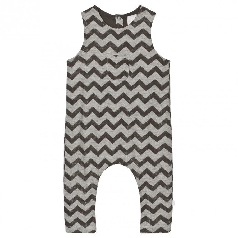 The Little Tailor Grey Baby Boys Slouch Dungaree Lappuhaalari