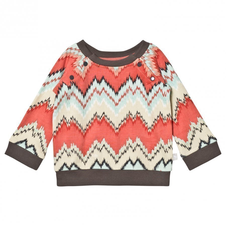 The Little Tailor Multi Zigzag Baby Boys Sweat Top Oloasun Paita