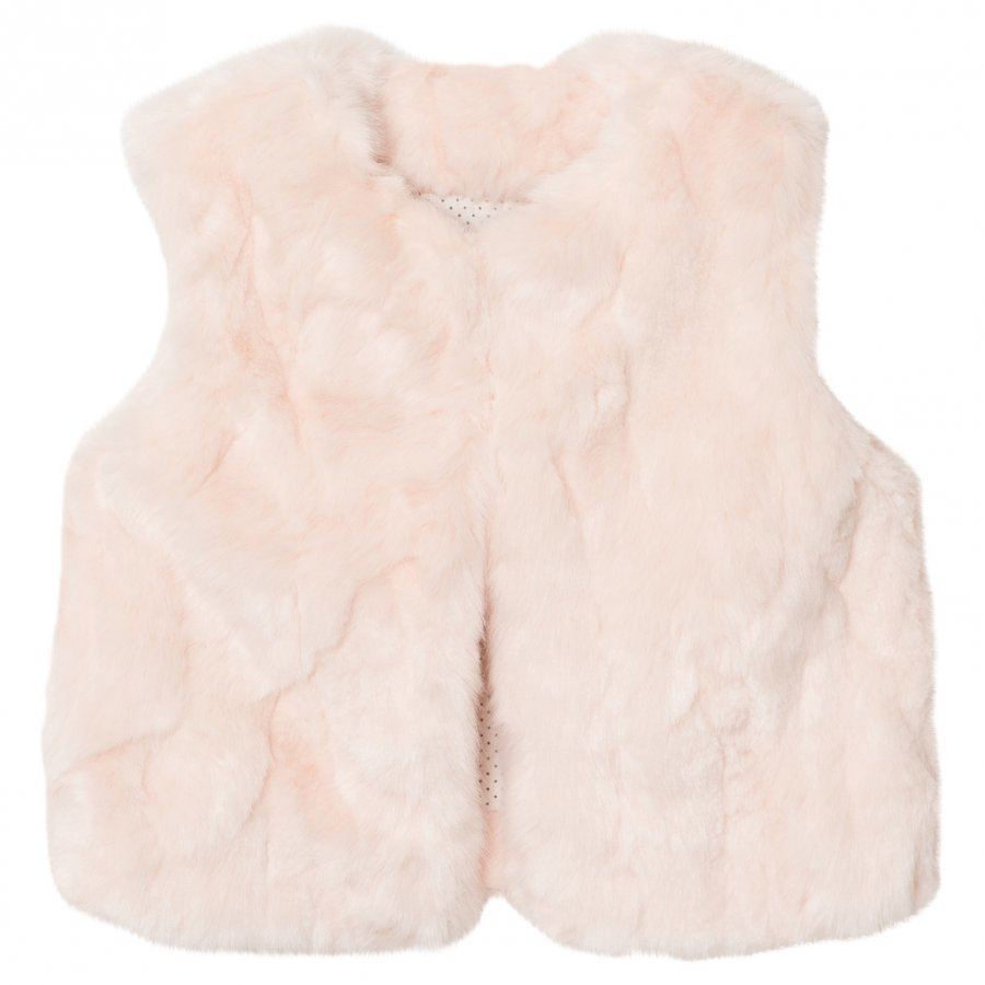 The Little Tailor Pink Baby Girls Gilet Toppaliivi