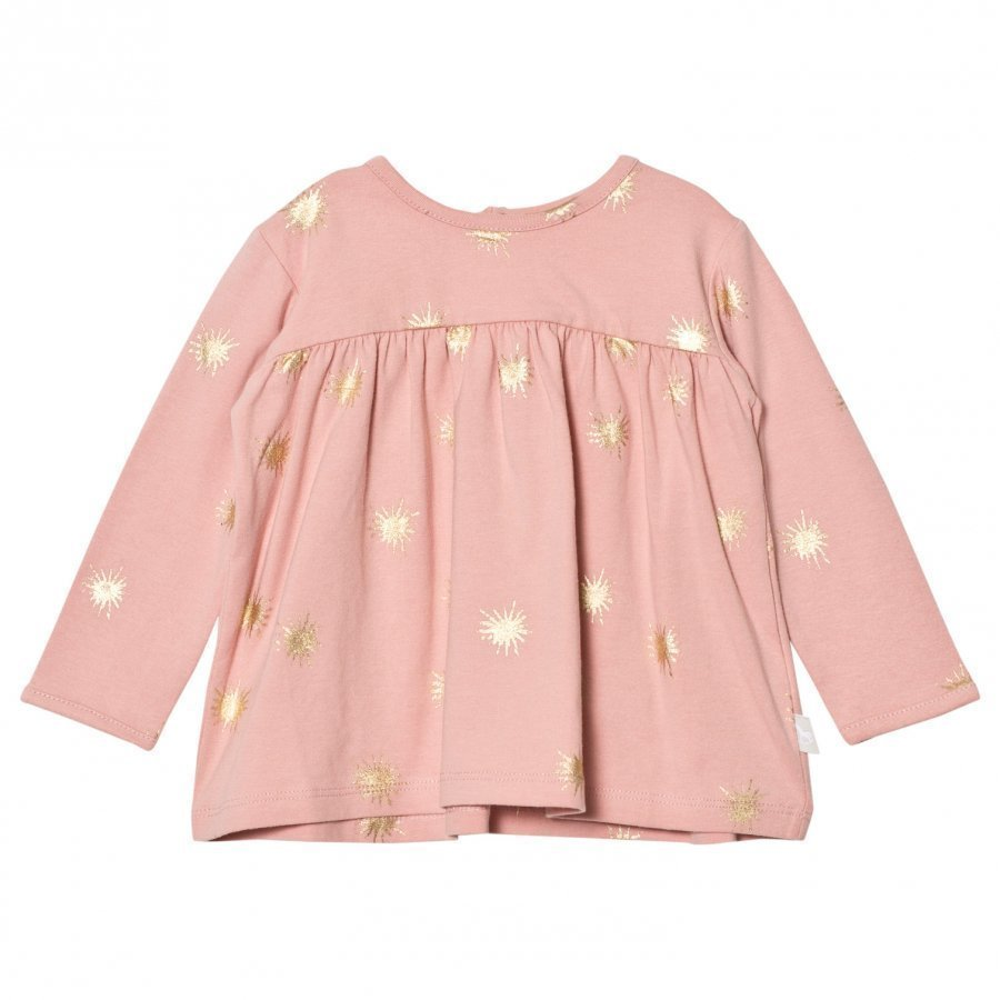 The Little Tailor Pink Baby Girls Swing L Slv Jersey Top Pitkähihainen T-Paita