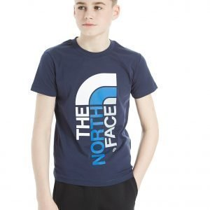 The North Face Ascent T-Shirt Cosmic Blue / White