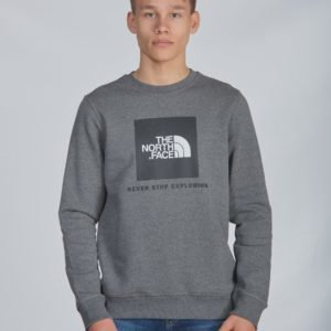 The North Face Box Crew Neule Harmaa
