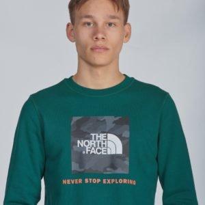 The North Face Box Crew Neule Vihreä