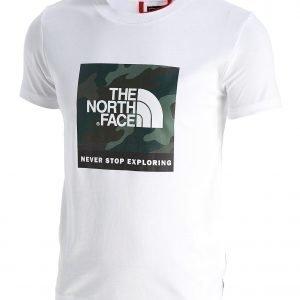 The North Face Box Logo T-Paita Valkoinen