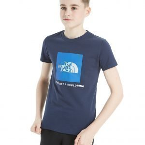 The North Face Box Short Sleeve T-Shirt Cosmic Blue