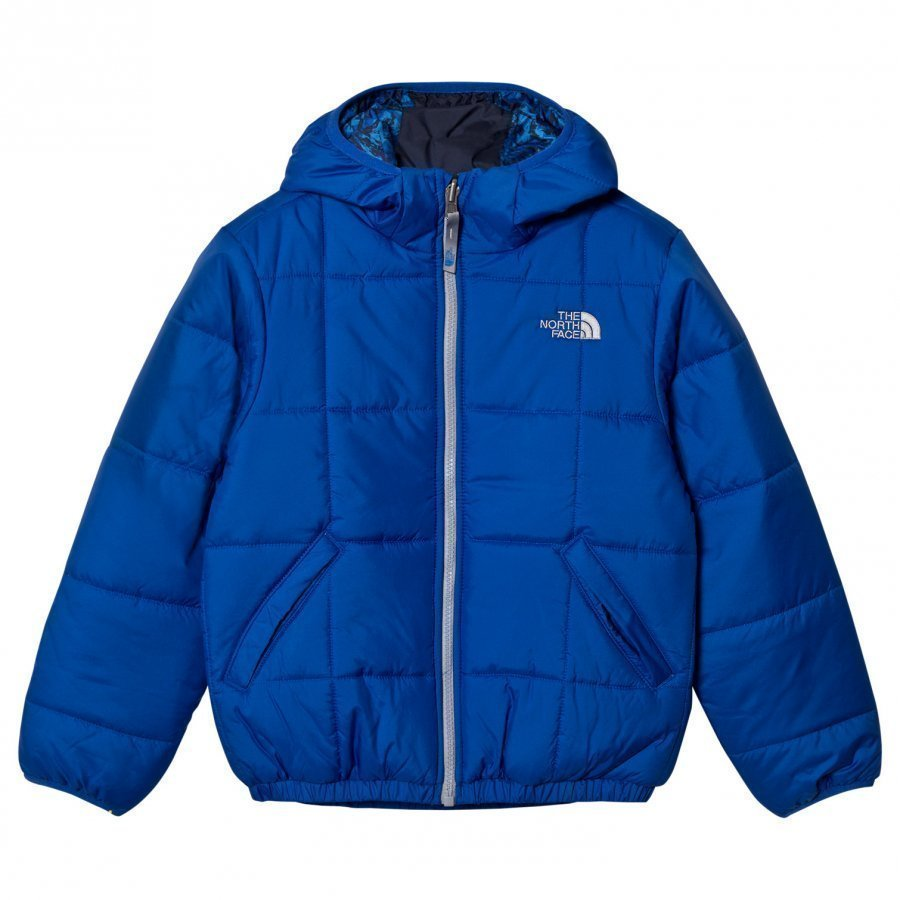 The North Face Bright Blue Reversible Perrito Jacket Sadetakki