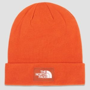 The North Face Dock Worker Recycled Beanie Hattu Oranssi