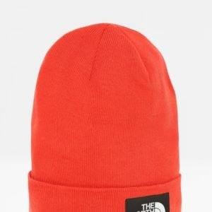 The North Face Dock Worker Recycled Beanie Hattu Punainen