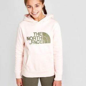 The North Face Girls' Drew Peak Hoodie Vaaleanpunainen