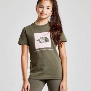 The North Face Girls' Easy Box T-Shirt Vihreä