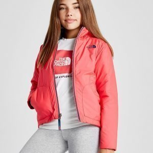 The North Face Girls' Perrito Reversible Jacket Vaaleanpunainen