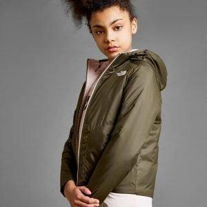 The North Face Girls' Perrito Reversible Jacket Vihreä