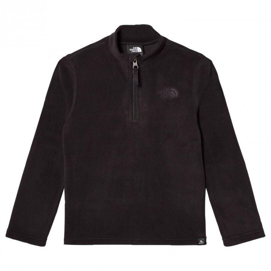 The North Face Glacier Zip Fleece Sweater Black Huppari