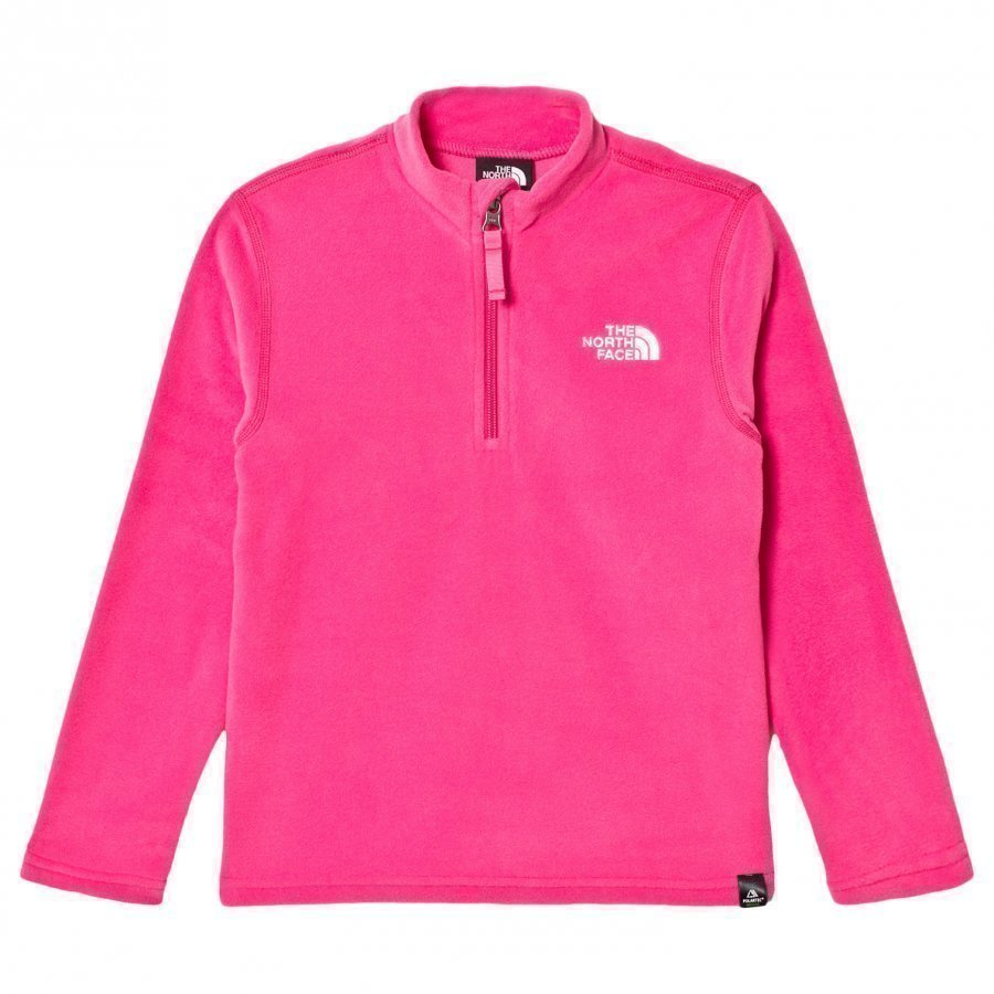The North Face Glacier Zip Fleece Sweater Pink Kerraston Yläosa