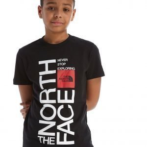 The North Face Graphic T-Shirt Musta