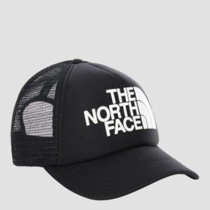 The North Face Logo Trucker Hattu Musta