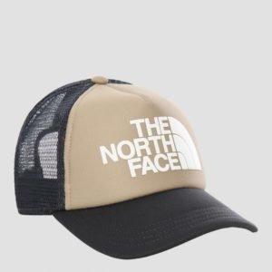 The North Face Logo Trucker Hattu Ruskea