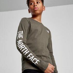 The North Face Long Sleeve T-Shirt Vihreä