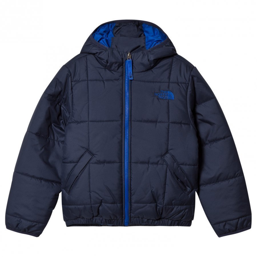 The North Face Navy Reversible Perrito Jacket Sadetakki