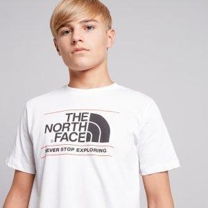The North Face Never Stop Exploring Easy T-Paita Valkoinen