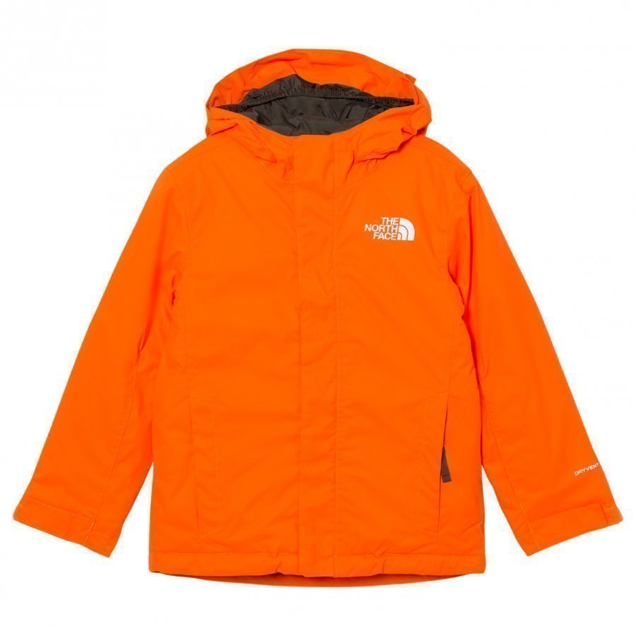 The North Face Orange Snow Quest Ski Jacket Toppatakki