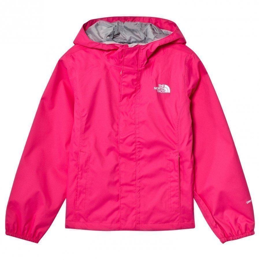The North Face Pink Resolve Reflective Jacket Tuulitakki