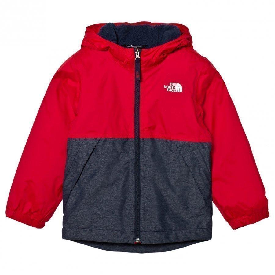 The North Face Red Warm Storm Jacket Sadetakki