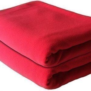 The Shrunks Crest Huopa Fleece 99x147 cm Punainen