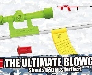 The Ultimate Blowpipe Combat Set Puhallusputki