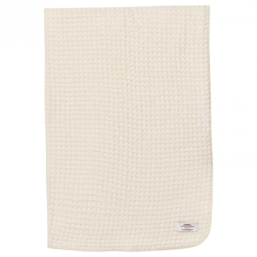 The Wool Company Lambswool Waffle Blanket Huopa