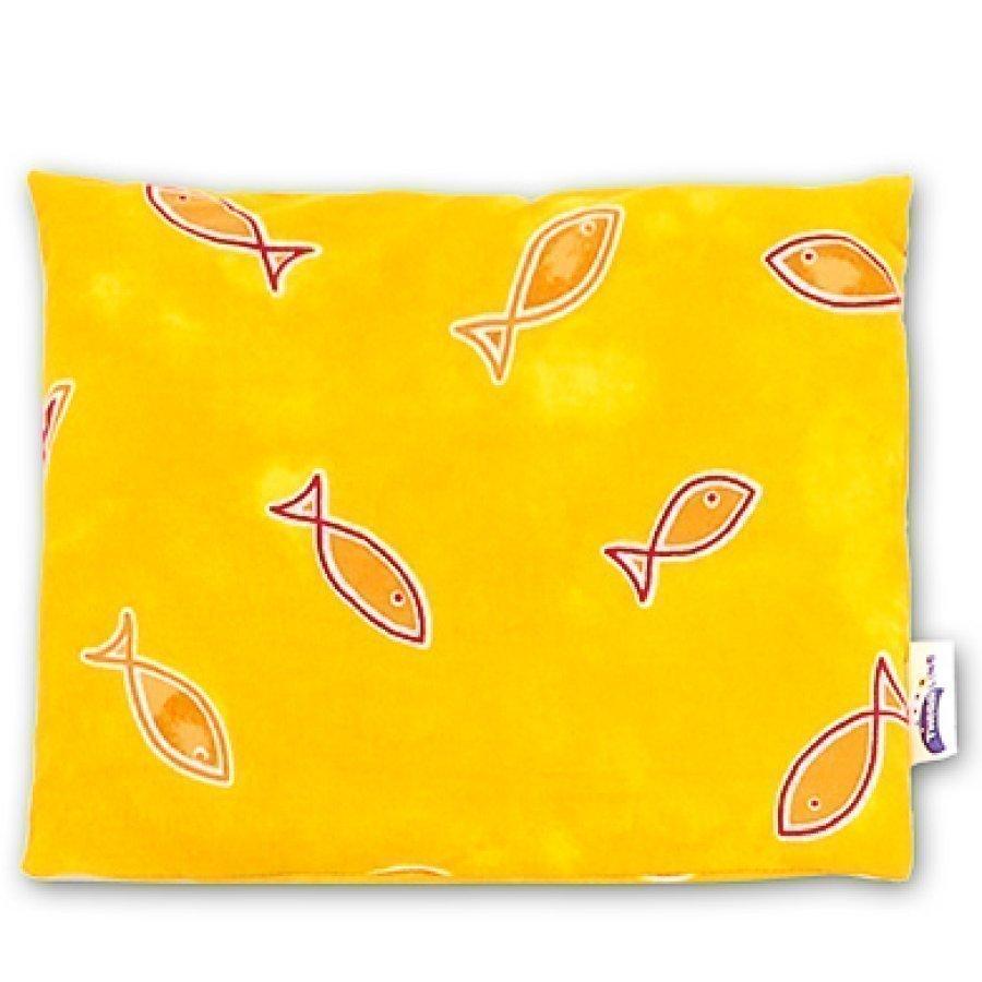 Theraline Lämpötyyny Kirsikankivitäyte 19 X 19 Cm Teema Keltaiset Kalat 49